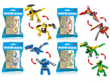 Dionsaur diy building blocks (31-36 pcs)