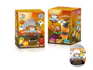 Halloween color dough egg 50g