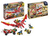 Pull back shooting autobot building blocks (435 pcs)