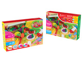 Fruit set color dough