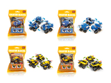 Pull back racing car building blocks (43-49 pcs)
