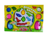 Dinosaur color dough