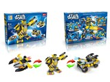 Star World pull back classic car building blocks (123 pcs)