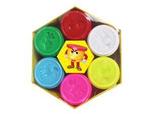 Color dough (6 pcs)