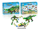 Dinosaur set building blocks (228 pcs)