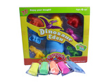 Dinosaur set color dough