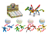 Egg package dinosaur 4 mixed building blocks (31-36 pcs)