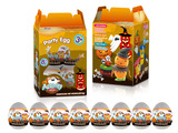 Halloween color dough eggs 8pcs 28.34g