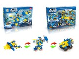 Star World pull back diy building blocks (160-172 pcs)