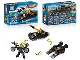 3 in 1 Police set lifeboat building blocks (73 pcs)