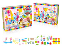 2 in 1 ice cream machine set color dough