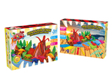 Dinosaur world set color dough
