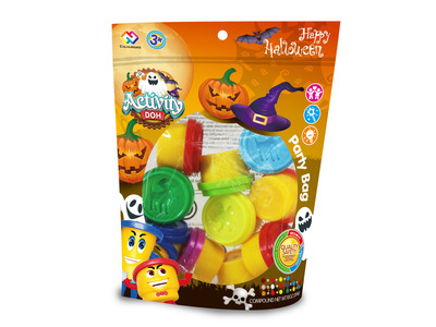 Helloween set color clay