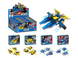 Aircraft diy building blocks 4 mixed